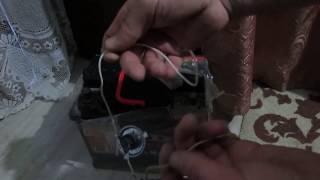 як зарядити акумулятор без зарядного пристрою ,все працює !