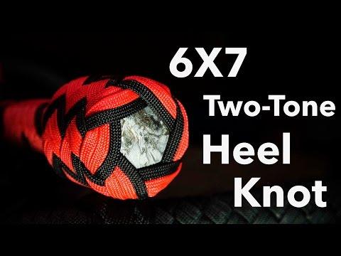 3 Pass, 6x7 Turks Head Heel Knot Tutorial | Nick's Whip Shop