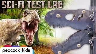 Metal T. Rex ATTACKS Car | SCI FI TEST LAB PRESENTED BY JURASSIC WORLD