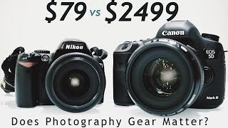 Video Does Photography Gear Matter? Cheap DSLR vs Expensive DSLR | Jamie Kate download MP3, 3GP, MP4, WEBM, AVI, FLV Juli 2018