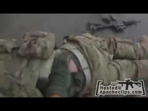 US Marine Shot Afghanistan