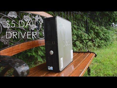 $5 Dell Optiplex 330 Desktop Daily Driver Demo