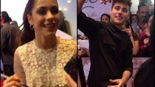 """Jorge y Tini en la premiere de """"Tini, el Gran Cambio de Violetta"""" en México"""