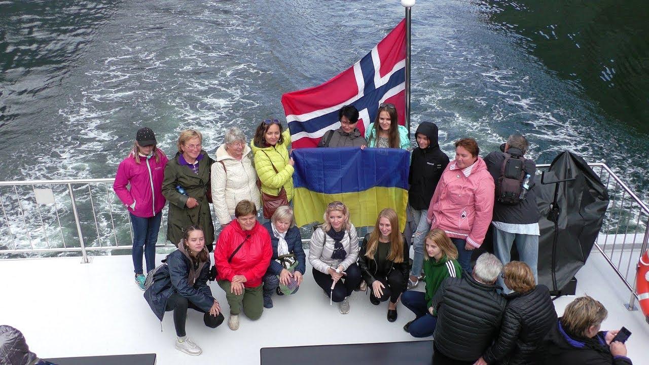 Прогулка по Норвежским фьордам из Флома в Гудваген с туристической компанией Euroways