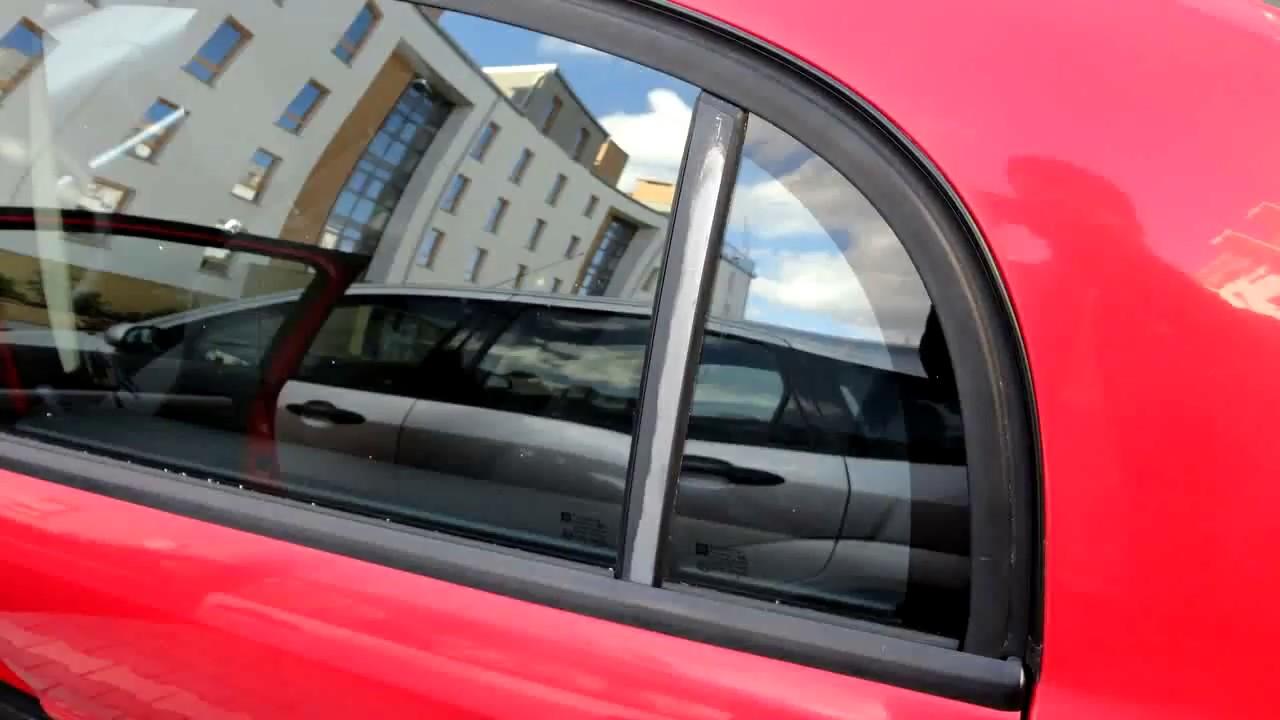 Fix and Repair Peeling Car Paint on Door Window Frame (Opel/Vauxhall ...