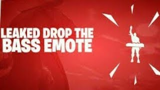 Fortnite *Drop The BASS Emote in real life*and more season 6 emotes leaked