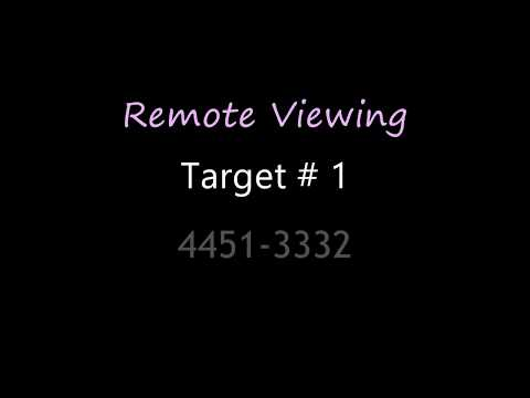 Remote View Test Target # 1