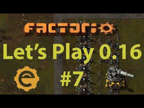 Factorio 0.16 Let's Play #7 - Advanced oil processing