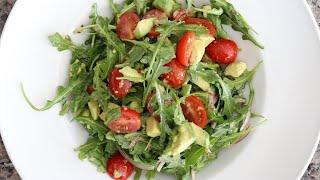 Arugula Avocado &amp Tomato Salad Recipe
