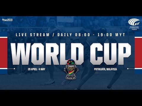 Singapore Vs Australia, Women's 27, Round 1   Touch World Cup 2019