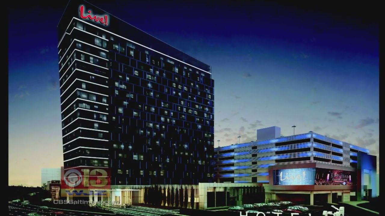 Ground broken for luxury maryland live casino hotel