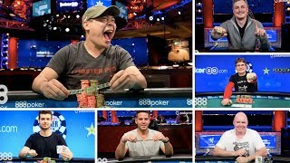 888 Update: The Newest World Series of Poker Bracelet Winners
