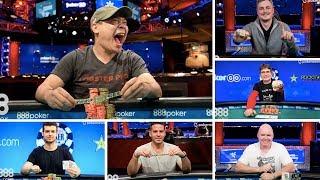 888 Update: The Newest World Series of Poker Bracelet Winners