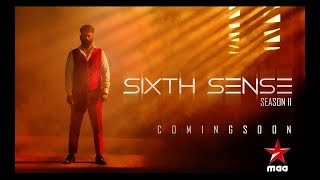 He is back again to play with your senses!!! #SixthSense2 Coming soon on Star Maa Get Ready