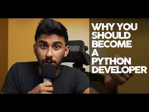 Why You Should Become a Python Developer
