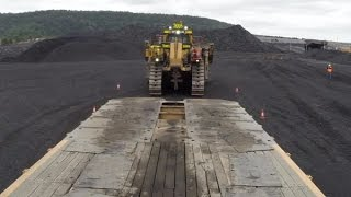 Huge Mine Requires Oversized Support Equipment
