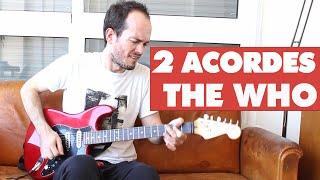 Cómo tocar canción Fácil 2 Acordes Rock - The Who - My Generation