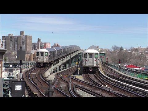 NYC Subway HD 60fps: R62A & R142A Special 6 Express Trains Between Pelham Bay Park & Parkchester