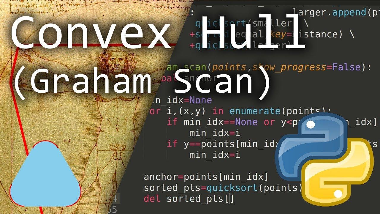 Graham Scan: Background & Python Code