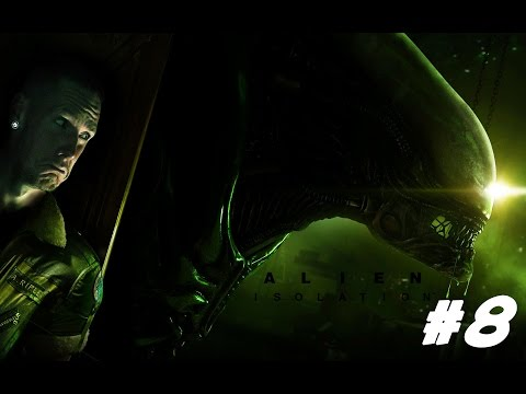 Virtual Reality Alien Isolation With The Oculus Rift DK2 - Playthrough EP.8
