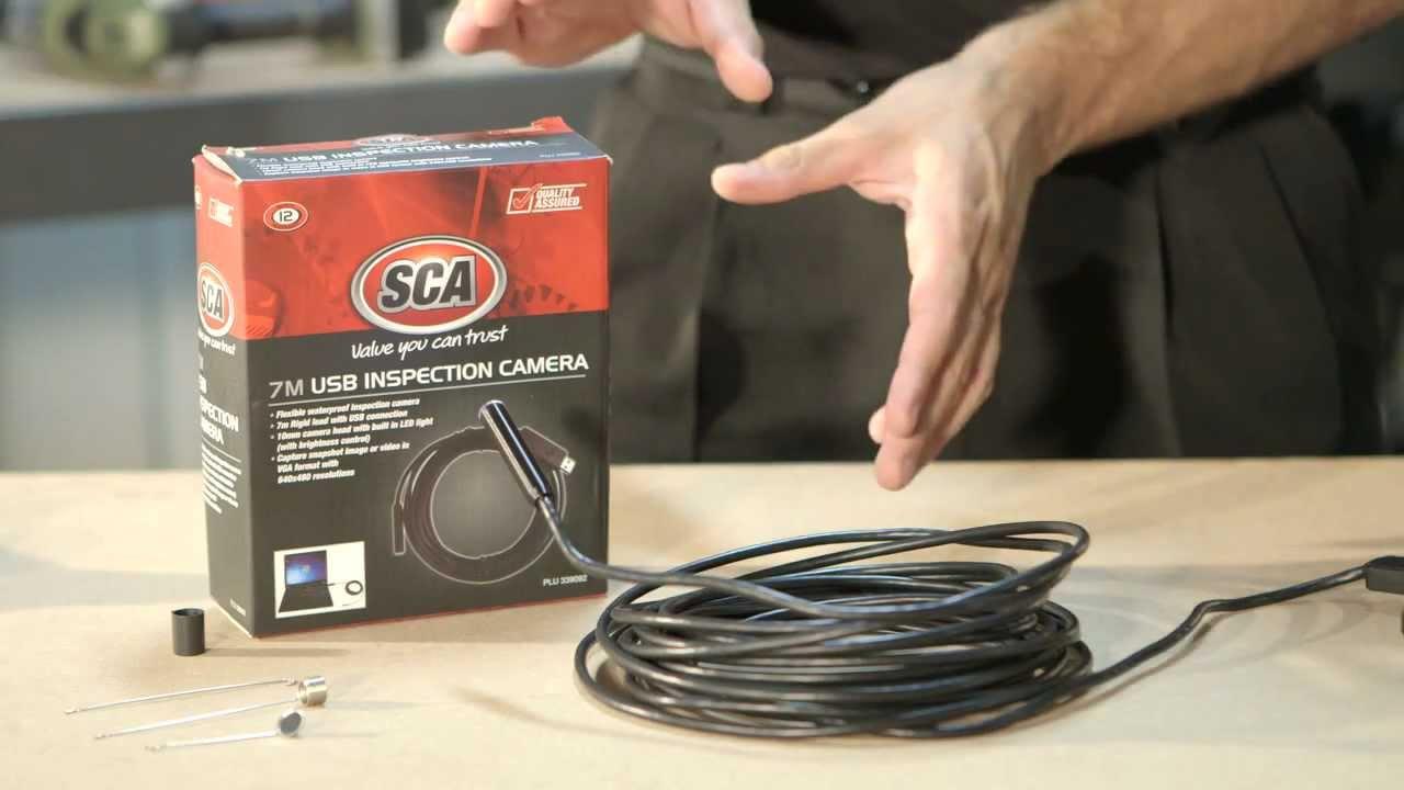 SCA Inspection Camera 7M USB // Supercheap Auto