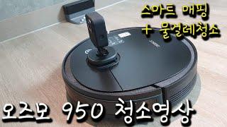 오즈모 950청소영상, 에코백스 로봇청소기 추천