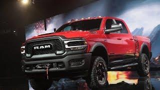Автосалон в Детройте: тяжёлые пикапы Ram стали ещё мощнее