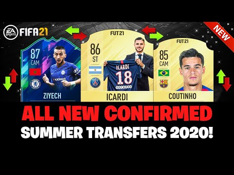 ALL NEW CONFIRMED SUMMER TRANSFERS 2020! ✅🔥| FT. ZIYECH, COUTINHO, ICARDI... Etc