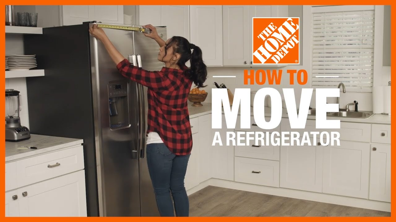 How To Move A Refrigerator The Home Depot