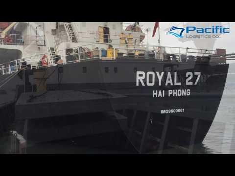 CUA ONG PORT - MV ROYAL 27 (13,715 DWT) DEC 2018 - PACIFIC AGENCY