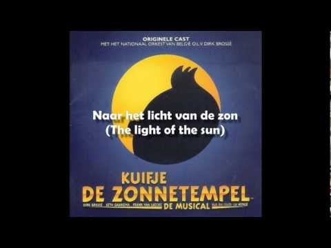 21 - Kuifje de Zonnetempel - De zon (Radiotrack) [Tintin Musical - English Translation]