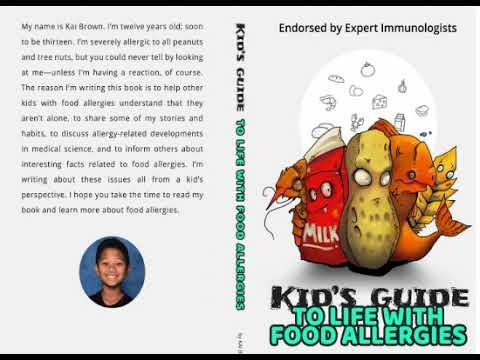 Kid's Food Allergies Book