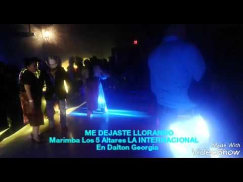 Marimba Los 5 Altares LA INTERNACIONAL - En Dalton Georgia