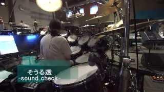 TAMA Sound Check on Stage_そうる透@ G-ROKS下高井戸スタジオ.