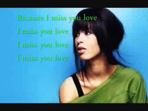 Miss You Love Lyrics By Maria Mena