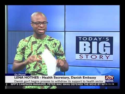 Ghanaian Danish Health Partnership - Today's Big Story on Joy News (2-3-16)
