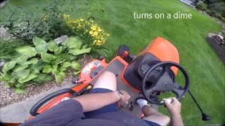 Kubota BX cutting grass 2