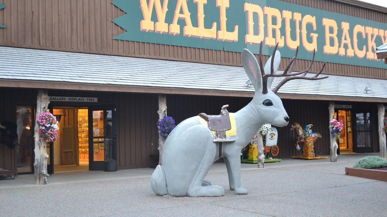visiting the backyard of wall drug store wall south dakota 2013