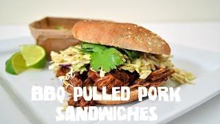 BBQ NOT PULLED PORK SANDWICH RECIPE