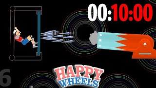 RECORD di ESCAPE THE BOX in 10 MINUTI! - Happy Wheels [Ep.191]