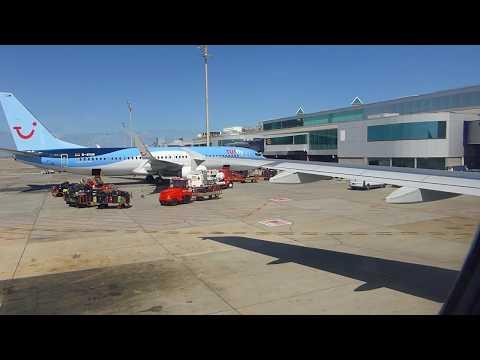 Landing at Tenerife South Airport (TFS) (1080p HD)