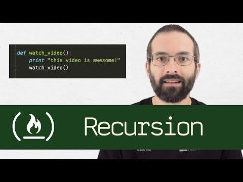 Recursion in software development