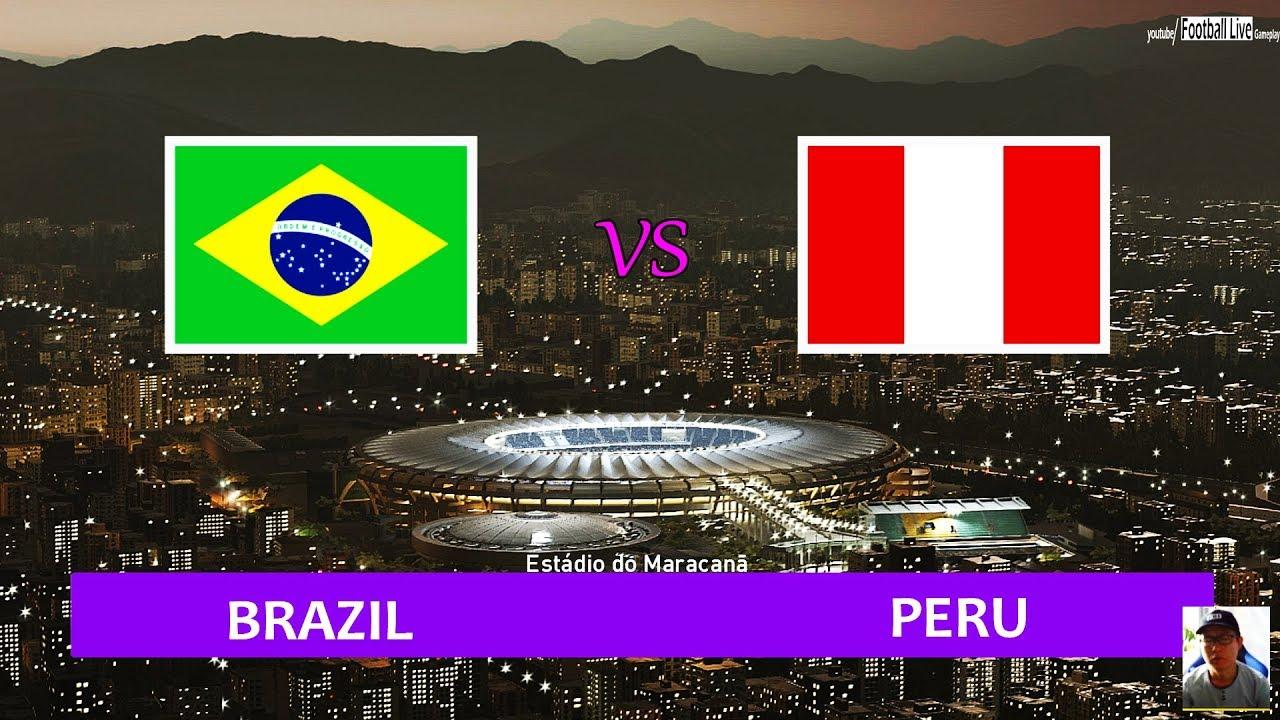 Xem lại Brazil vs Peru Full match