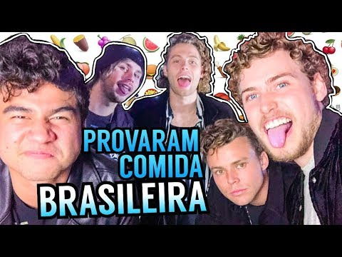 5 Seconds Of Summer trying Brazilian food and playing 'most likely to'