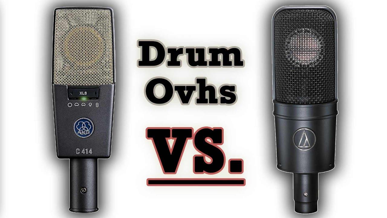 drum overhead mic shootout c414 xls vs at4040 youtube. Black Bedroom Furniture Sets. Home Design Ideas