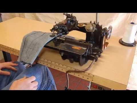 US Blind Stitch 118-1 Industrial Sewing Machine.