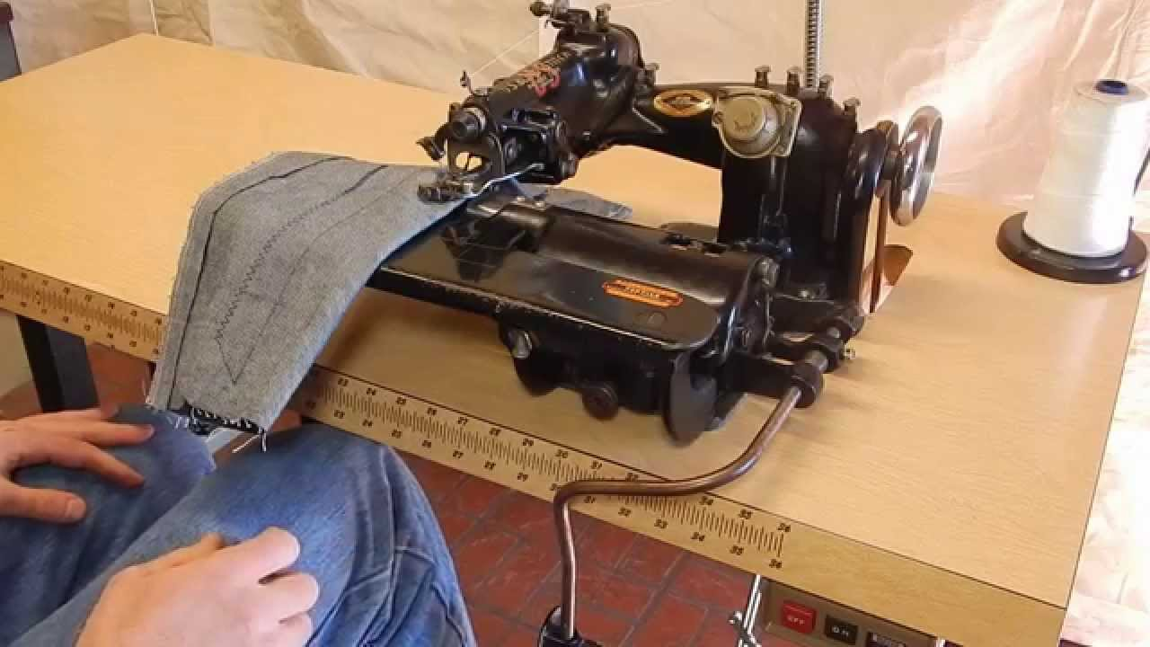 industrial blind stitch sewing machine