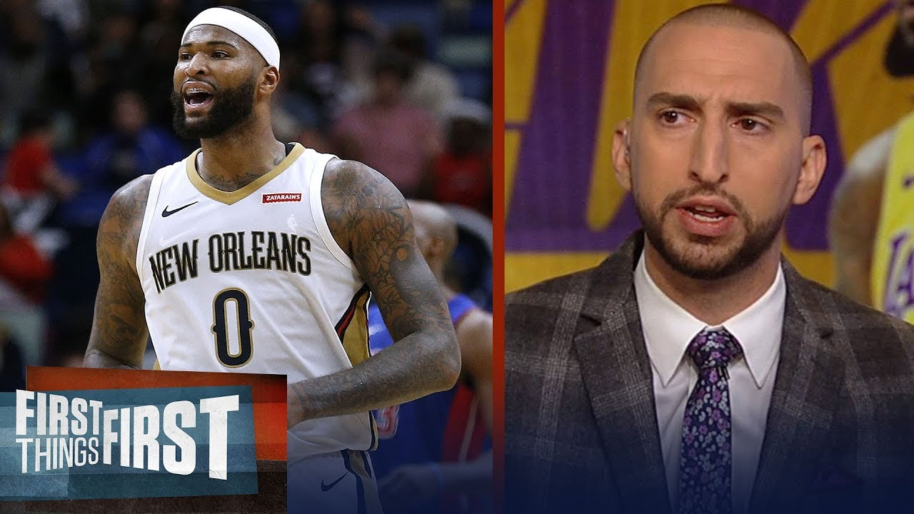 Nick and Cris react to DeMarcus Cousins signing 1-yr deal with Warriors  4d9720550