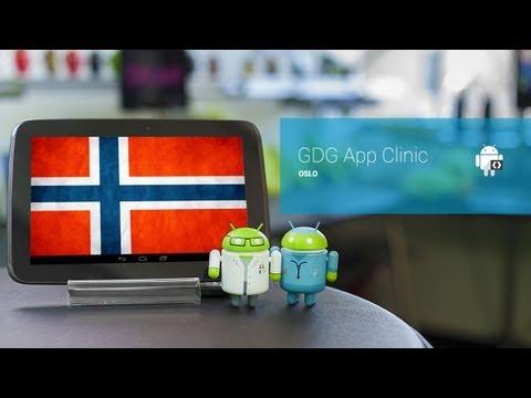 GDG App Clinic - Oslo