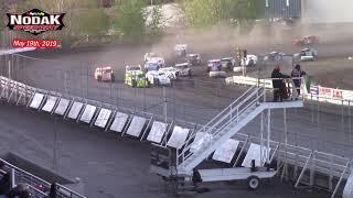 Nodak Speedway IMCA Sport Mod A-Main (5/19/19)